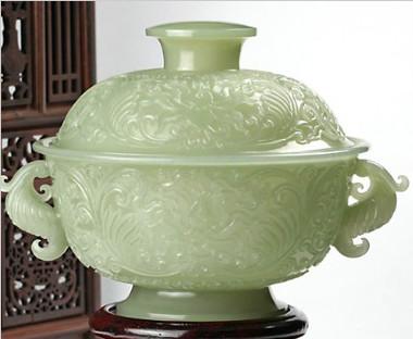 玉雕器皿花纹图片