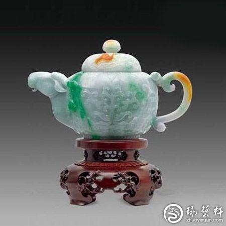 翡翠玉雕器皿