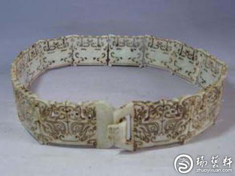 玉腰带是古代男子的日常用品不过这是相对富贵人家来说的在