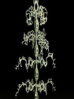 400多件民间收藏古代玉器展出 东汉玉雕摇钱树亮相