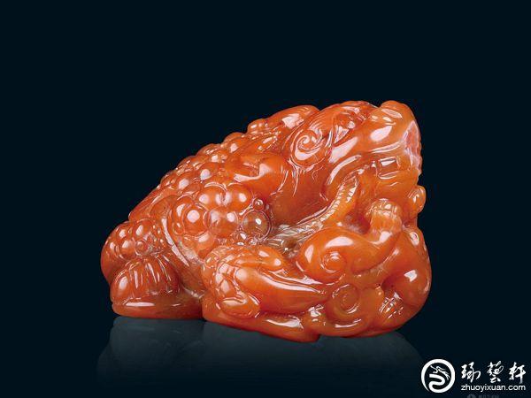 """南红玛瑙——最具代表""""中国红""""的玉石"""