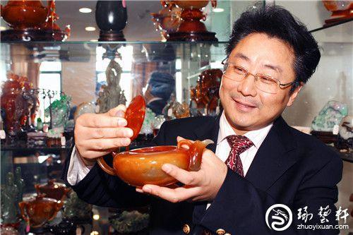 高级工艺美术师钱振峰:与玉结缘四十余载