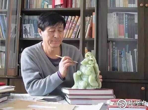 刘宝玮:刀笔成就天然造化雕玉雕心雕琢人生