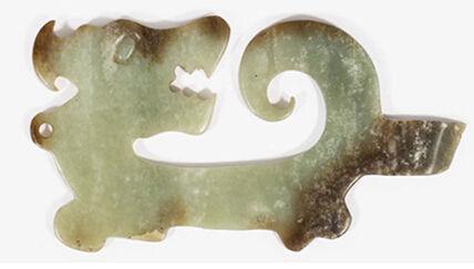 龙形玉刀:鬼斧神工,传世精品