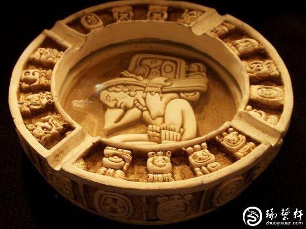 同样推崇玉文化的玛雅人