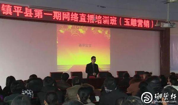 镇平县举办玉雕网络直播培训班