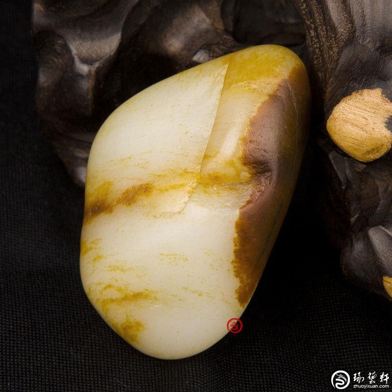 如何赏玩和田玉籽料原石?