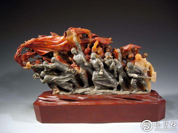 寿山石雕艺术源流之薄意