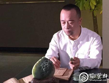 玉雕大师洪保增:闹中取静,细琢人生