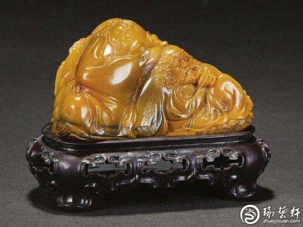 林飞:寿山石雕是减法 一石一色难造假