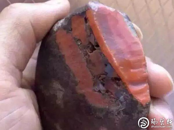 南红玛瑙赌石可以做假?