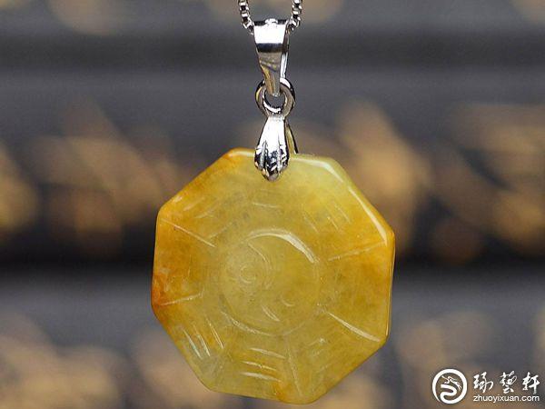 帝王之玉:黄翡的收藏价值
