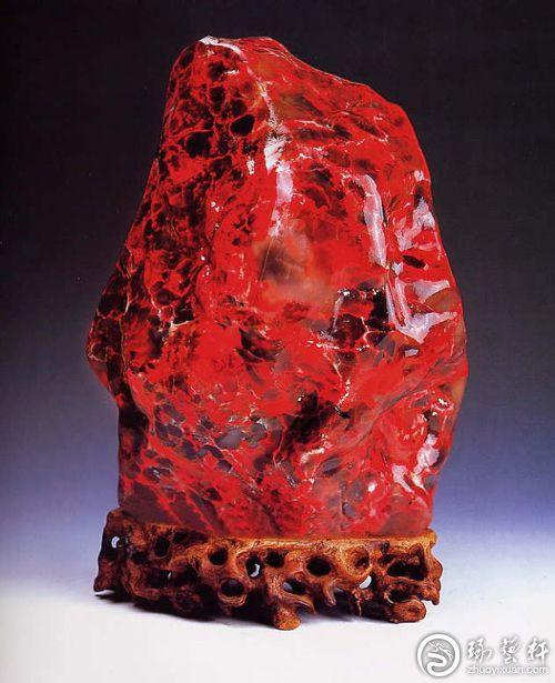 巴林鸡血石